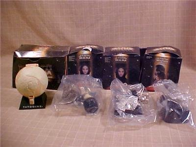 LOT OF 4 STAR WARS EPISODE 1 TACO BELL COLLECTOR TOYS