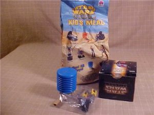 MIB STAR WARS EPISODE 1 TACO BELL KID'S MEAL TOY