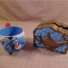 LOT OF 2 DISNEY ALADDIN PLAY SET & LARGE CUP