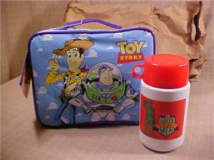 Toy story lunch box and bottle