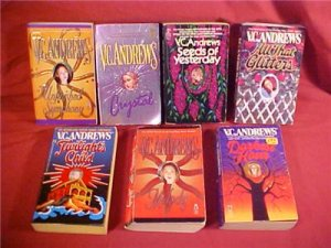 LOT OF 7 V.C. ANDREWS PAPERBACK BOOKS