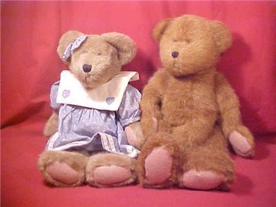 2 LARGE RETIRED BOYD'S BEARS 1985