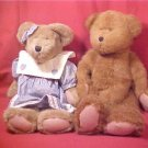 2 LARGE RETIRED BOYD'S BEARS 1985
