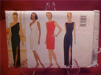 BUTTERICK SEWING DRESS PATTERN #4300 UNCUT (SOLD)