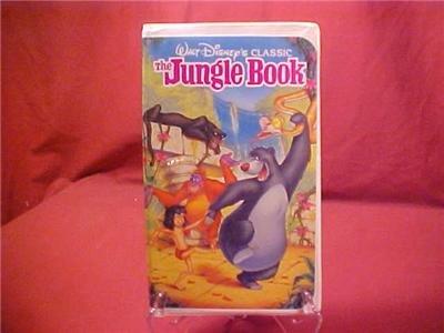 DISNEY CLASSIC THE JUNGLE BOOK VHS VIDEO