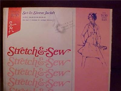 ANN PERSON SEWING PATTERN SET-IN SLEEVE JACKET UNCUT