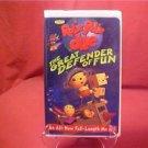 DISNEY ROLIE POLIE OLIE THE GREAT DEFENDER OF FUN VHS