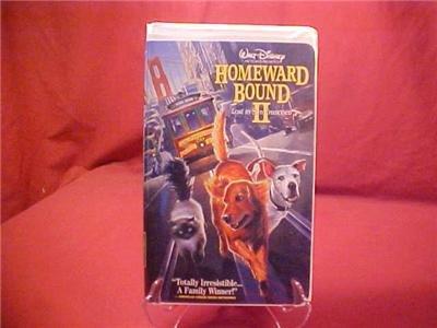 DISNEY HOMEWARD BOUND 2 LOST IN SAN FRANCISCO VHS