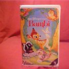 DISNEY CLASSIC BAMBI VHS VIDEO