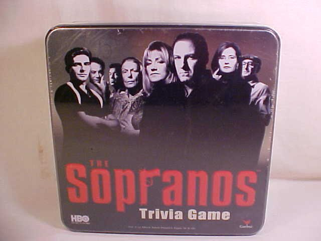 2004 THE SOPRANOS TRIVIA GAME IN COLLECTOR TIN