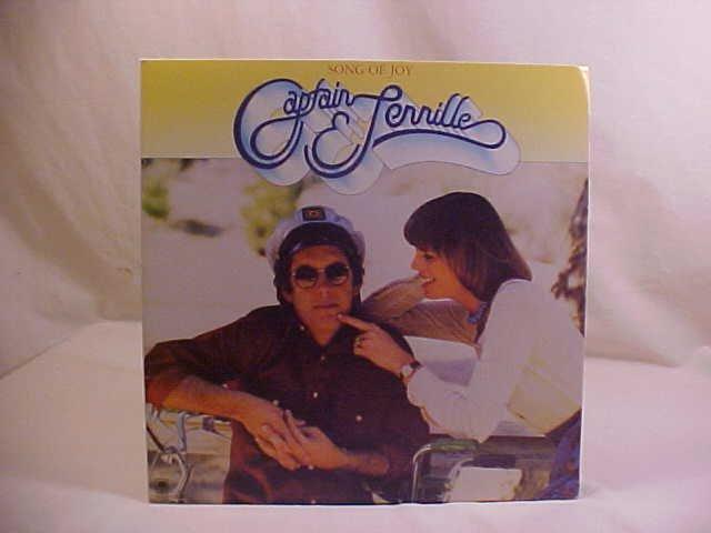 CAPTAIN & TENNILLE SONG OF JOY LP VINYL RECORD