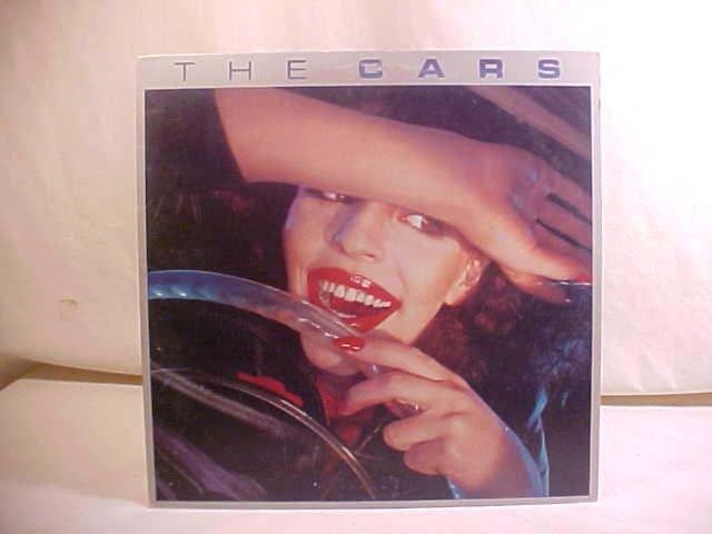 1978 THE CARS 33 RPM LP RECORD ALBUM