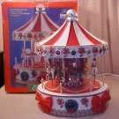 HOLIDAY WORKSHOP ELECTRONIC MUSICAL MERRY-GO-ROUND