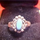 VINTAGE TURQUOISE ART DECO RING