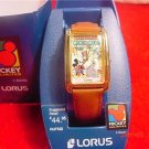 "Vintage MIB Lorus Disney Mickey ""Mickey Circus"" Watch"