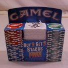LAS VEGAS CASINO Poker Chips 2 Racks Camel Promo