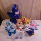 LOT OF 7 TY BEANIE BABY PLUSH TOYS