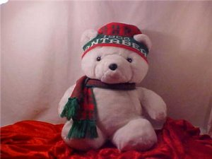 1986 SANTA BEAR DAYTON HUDSON PLUSH BEAR