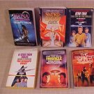 LOT OF 6 STAR TREK & XENA AND SWORD DANCER BOOK