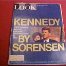 AUGUST 10 1965 LOOK MAGAZINE JFK BY SORENSEN