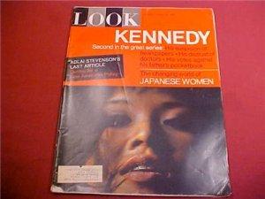 AUGUST 24 1965 LOOK MAGAZINE KENNEDY JAPANESE WOMEN