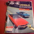 1967 LOOK MAGAZINE OSWALD & 68 CARS AUTOMOTIVE PREVIEW