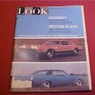 1965 LOOK MAGAZINE PEYTON PLACE 1966 CARS IN COLOR