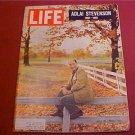 JULY 23 1965 LIFE MAGAZINE ADLAI STEVENSON 1900-1965