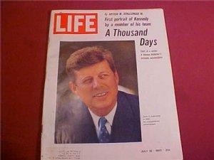 JULY 16 1965 LIFE MAGAZINE A THOUSAND DAYS
