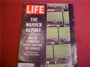 OCTOBER 2 1964 LIFE MAGAZINE THE WARREN REPORT