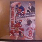 DETROIT RED WINGS NHL HOCKEY POSTER LARIONOV