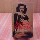 1983 BARBARA STANWYCK A BIOGRAPHY PAPERBACK BOOK