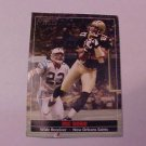NEW ORLEANS SAINTS JOE HORN  FOOTBALL CARD