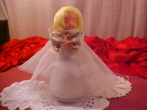 VINTAGE MUSICAL ANGEL SILENT NIGHT