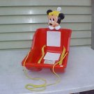 VINTAGE DISNEY MICKEY MOUSE CHILD'S SLED