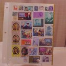 CANADA NICARAGUA COLLECTOR STAMP SET 2 CENT TO 80 CENT