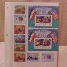 LOT #4 COLLECTOR STAMP SET REPUBLIQUE, WASHINGTON, CCCP