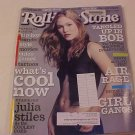 ROLLING STONE SPECIAL ISSUE MAGAZINE JULIA STILES