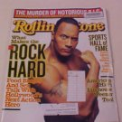 2001 ROLLING STONE MAGAZINE WHAT MAKES THE ROCK HARD