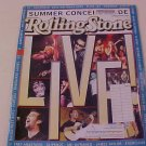 2001 ROLLING STONE MAGAZINE LIVE SUMMER CONCERT'S