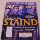 2001 ROLLING STONE MAGAZINE THE DARKNESS WITHIN STAND
