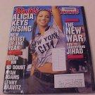 2001 ROLLING STONE MAGAZINE ALICIA KEYS RISING