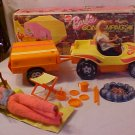 Vintage 1970's Barbie Dune Buggy and Camping Trailer