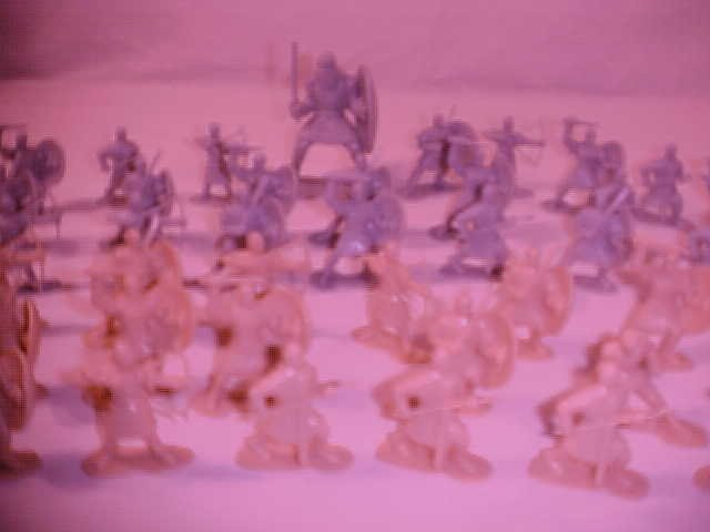 LOT OF 48 MEDIEVAL KNIGHT ARMOUR WORRIOR FIGURES