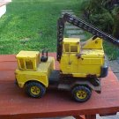 VINTAGE PRESSED STEEL TONKA TURBO CRANE TRUCK TOY