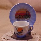 Vintage Souvenir Teacup and Saucer New Mexico