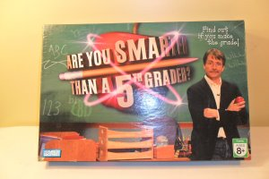 ARE YOU SMARTER THAN A 5th GRADER BOARD GAME COMPLETE