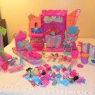 Polly World Amusement park, stage, boutique, cafe set
