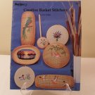 1983 CREATIVE BASKET STITCHERY PATTERN BOOK