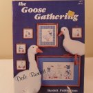 1985 DALE BURDETT THE GOOSE GATHERING CROSS STITCH BOOK